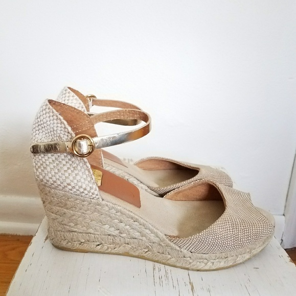 7e570e45031fe Kanna Shoes - Kanna Wedge Espadrilles Sz 8 Made in Spain